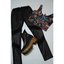 Calzas De Mujer Lycra Y Combinadas Cuero