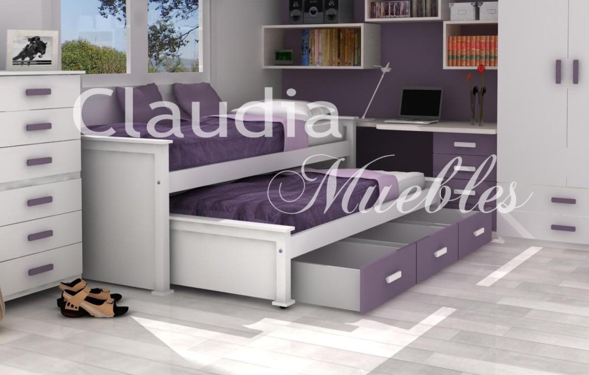 Camas nido mercadolibre images for Sofa cama de madera 1 plaza
