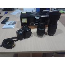 Camara Nikon D3100 + Lente 55-200 + Lente 18-55