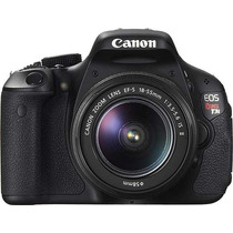 Canon 600d Kit 18-55 Is T3i Eos Reflex 18mp. /lcd 3 /