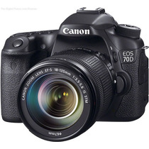 Canon Eos 70d Kit 18-135mm Stm 18mpx Full Hd! Wifi! Sup 60d