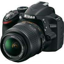 Nikon D3200 24 Mpx 18-55 Vr Full Hd - Reflex - Gtia 1 Año!!