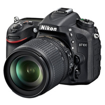 Nikon D7100 D 7100 Kit 18-105mm Vr 24.1mp Lcd 3.2 Full Hd!!!