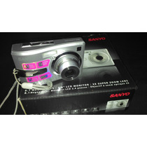 Camara De Fotos Sanyo 8.1 Mega Mod. S-870