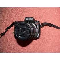 Sony Alpha 200 Impecable Completa Con Zoom 75-300