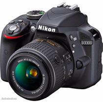 Camara Reflex Nikon D3300 Kit 18-55 Vr +envío + 12 Cuotas!!!