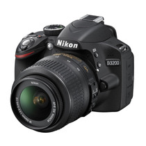 Camara Reflex Digital Nikon D3200 Con Lente 18/55mm Vr Gtia