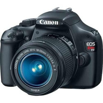 Canon Eos Rebel T3 Dslr Camera With 18-55mm Is Lens 12.6mp !