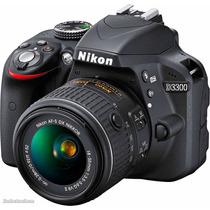 Nikon Reflex D3300 Kit 18-55mm + Memoria 16gb Clase 10