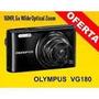Camara Digital Olympus Vg 180 16m.pixe Nueva Fact A Y B