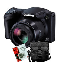 Canon Sx410 Is 20mpx 40x Full Hd + Sd 8gb + Bolso 1 Año Gtia