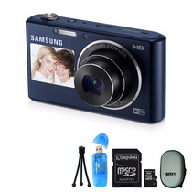 Samsung Dv150f Dv 150 16.2mp Zoom 5x Wifi / Hd + 8g Y Funda