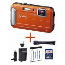 Panasonic Lumix Ts25 Sumergible 16.1mp + Accesorios Extra!!!