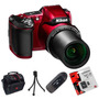 Nikon L840 12 Cuotas Sin Int.+ Lector+ Trip.+ 16gb+ Bolso!!!