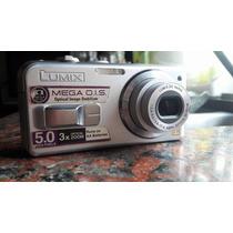 Camara Digital Panasonic Lumix 5mpx X3 Optical Zoom + Funda