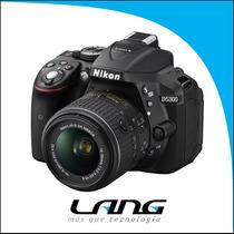 Nikon D5300 Kit 18-55 Vrii Reflex Full Hd Hdmi Gtia