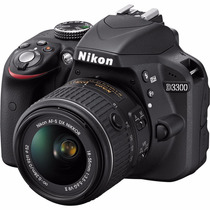 Nikon D3300 Kit 18-55mm Vr+ Sd 16gb C10+ Garantia