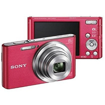 Cámara Sony Dsc-w830 20,1mp Rosa!!!! Mas Memoria 8gb!!!!