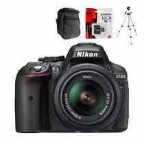 Nikon Reflex D5300 + 16gb C10 + Bolso + Tripode Gtía Alclick