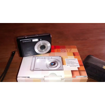 Camara Impecable Con Funda Caja Manual Modelo Es17