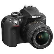 Nikon Reflex D3300 Kit 18-55 Vr + 16g 24mp Sup D3200 Env S/c