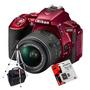 Nikon D5500 Kit 18-55m Vr Wifi+ 16gb C10+ Bolso+ Trípode!!!!