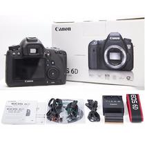 Camara Canon 6d Wg Body - Full Frame - Precio Efvo