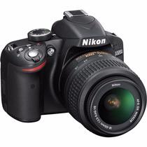 Camara Nikon D3200 Reflex Lente 18-55mm 24.2mp+ Bolso + Tarj