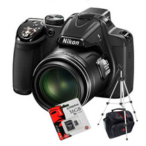 Nikon P530 Reemp. P520 16.1mp+ Trípode+ Sd 16gb C10+ Bolso!