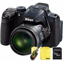 Nikon P530 Coolpix 42x 16mp Full Hd + Funda + Sd 8gb +lector