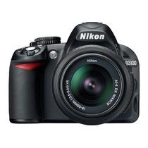 Camara Nikon D3100 Kit 18-55mm Vr