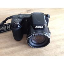 Nikon Coolpix L820 Con Memoria De 32gb Impecable