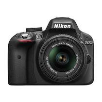 Nikon D3300 Kit18-55vrii +8gb C10 + Bolso +tripode La Plata