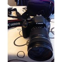 Cámara Canon 550d Reflex /completisima ,como Nueva ,oferta!!