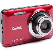 Camara Kodak Fz51 16mp 5x Zoom 2.7` Lcd Hd
