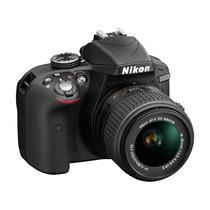 Nikon D3300 Kit 18-55 - Full Hd - 24mpx - Envios - Burzaco