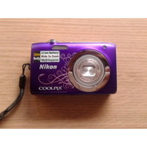 Cámara Digital Nikon Coolpix S2600 14mp 5xzoom +funda Rigida