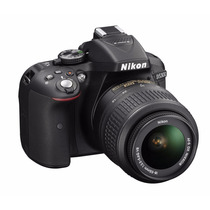 Nikon Reflex D5300 Kit 18-55mm 24mp Full Hd 1080p Wi-fi Gps