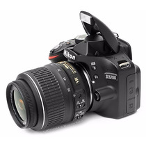 Camara Nikon D3200 Kit 18-55 + 16g + Bolso 12 Cuotas + Envio