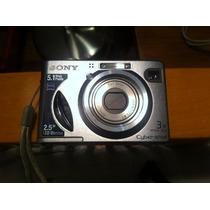Cámara Digital Sony Cibershot 5.1 Con Funda