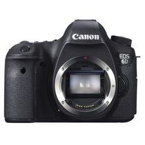 Canon Eos 6d (wg) Body 20 Mp Camara Full-frame Wi-fi Full Hd