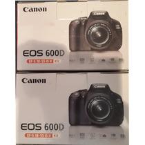 Canon Eos 600d / Rebel T3i 18-55mm Nueva Entrega Inmediata !