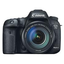 Cámara Canon Eos 7d Mark Ii Dslr 20mp + Lente 18-135mm
