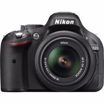 Nikon Reflex D5200 18-55mm 24mp Iso 6400 Video Full Hd Nuevo
