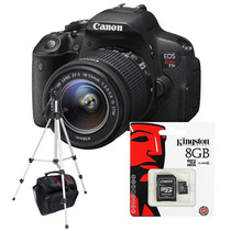 Canon Rebel T5i Kit 18-55+ Sd 8gb C10+ Bolso+ Tripode!!!!!!!