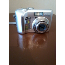 Cámara Digital Nikon Coolpix P2 No Funciona Zoom A Reparar.