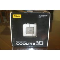 Camara Digital Nikon Coolpix Sq En Caja Con Accesorios