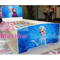 Cama Frozen, Minnie, Kitty, Sofía, Princesas
