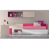 Cama+escritorio+mesa De Luz+estante Muebles Tuestilo