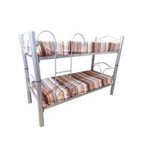 Cama Superpuesta Modelo Aries 1 Plaza Con Escalera 75-369